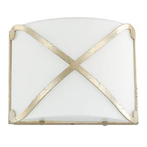 Donny Osmond Alexander Winter Gold One-Light LED Sconce