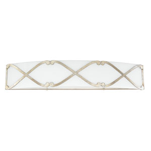 Donny Osmond Alexander Winter Gold One-Light LED Vanity
