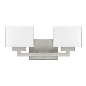 Tahoe Brushed Nickel Two-Light Vanity