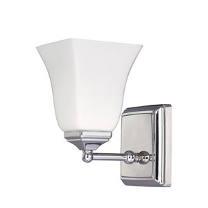 Polished Nickel Sconce