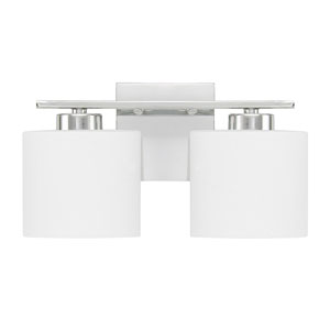 Steele Chrome Two-Light Vanity