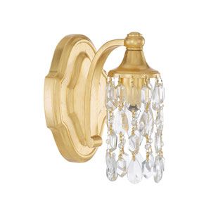 Blakely Capital Gold Five-Inch One-Light Sconce