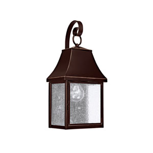 Collins Hill New Bronze One-Light Outdoor Wall Lantern