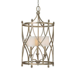 Fifth Avenue Winter Gold Three-Light Lantern Pendant