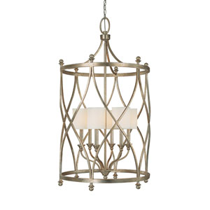 Fifth Avenue Winter Gold Six-Light Lantern Pendant