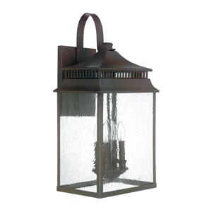 Sutter Creek Oil Rubbed Bronze Four-Light Wall Lantern