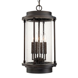 Grant Park Old Bronze Four-Light Hanging Lantern