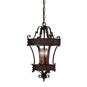 River Crest Four-Light Foyer Pendant