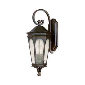 Inman Park Old Bronze Two-Light Outdoor Wall Light