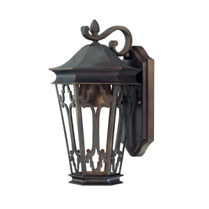 Townsende Old Bronze Outdoor Dark Sky Wall Lantern