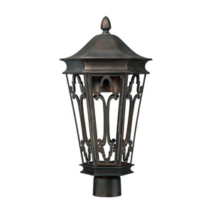 Townsende Old Bronze Outdoor Dark Sky Post Lantern