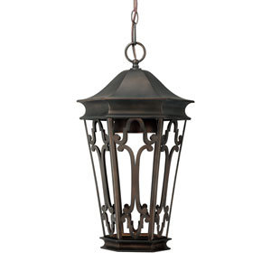 Townsende Old Bronze Outdoor Dark Sky Hanging Lantern