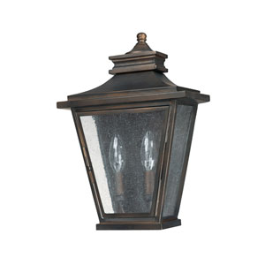 Astor Old Bronze Two-Light Outdoor Sconce