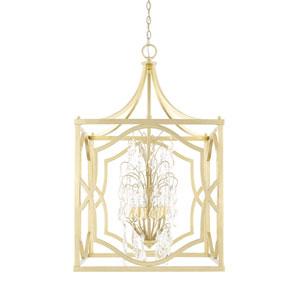 Blakely Capital Gold 23-Inch Six-Light Pendant