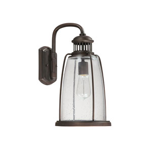 Harbour Old Bronze One Light Wall Lantern