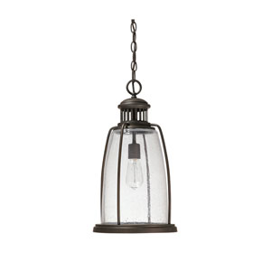Harbour Old Bronze One Light Hanging Lantern