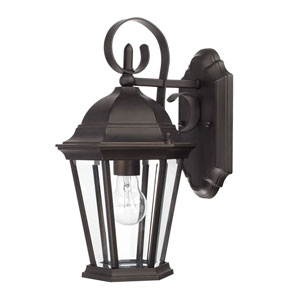 Carriage House Old Bronze One-Light 15-Inch Wall Mount