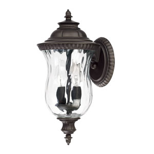 Ashford Old Bronze Two-Light 7-Inch Wide Wall Mount