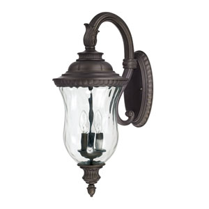 Ashford Old Bronze Three-Light Wall Mount