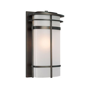 Lakeshore Old Bronze Large One-Light Outdoor Wall Light