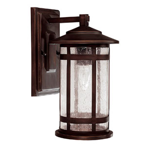 Mission Hills Small Outdoor Wall Mount