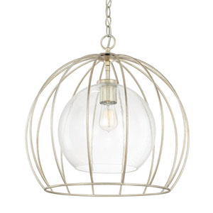 Winter Gold One-Light 20-Inch Pendant