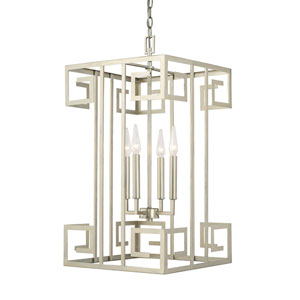 Champagne Four-Light 15-Inch Chandelier