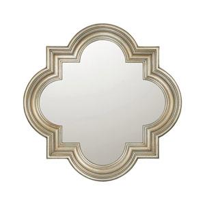 Silver 34-Inch Mirror