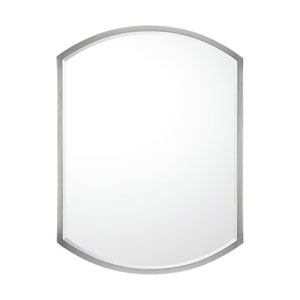 Matte Nickel Metal Mirror