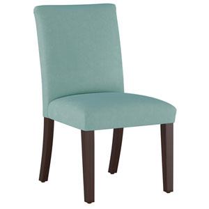 Velvet Caribbean 37-Inch Pleated Dining Chair