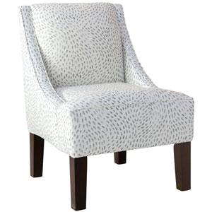Dry Brush Skin Gray 34-Inch Chair
