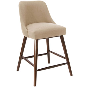 Linen Sandstone 38-Inch Counter Stool