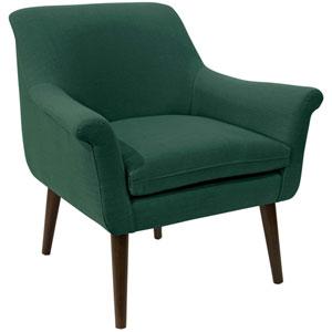 Linen Conifer Green 34-Inch Chair