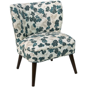 Bloom Turquoise 35-Inch Chair