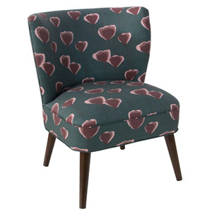 Poppy Turquoise 35-Inch Chair