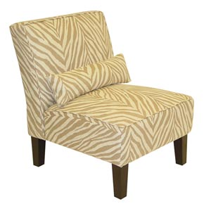 Sudan Cream Armless Chair
