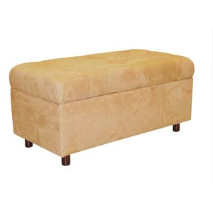 Tufted Storage Bench - Premier Saddle