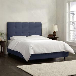 Tufted Queen Bed - Premier Lazuli