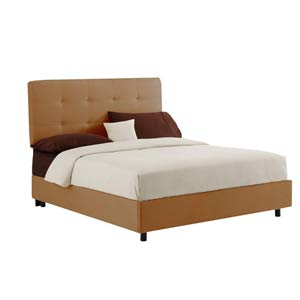 Tufted Queen Bed - Premier Saddle