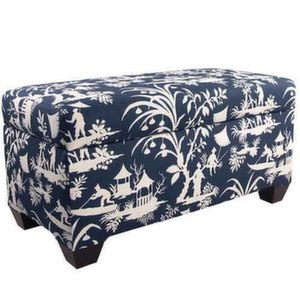 Crystal Lake Midnight Storage Bench
