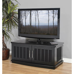 LSX Series Black Oak 42-Inch TV Stand