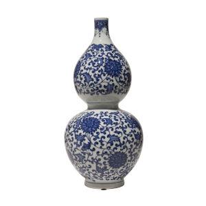 Blue White 11-Inch Gord Vase