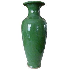 Jade Green Jade Crackle Vase