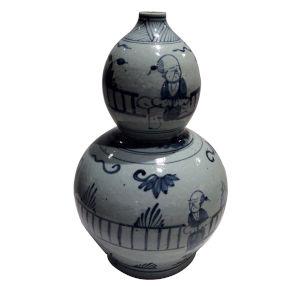 Blue White Gourd Vase