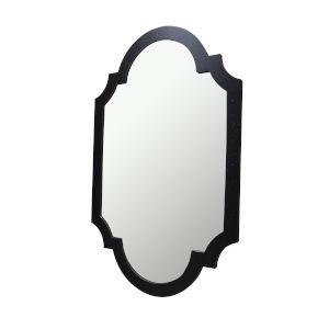 Antique Black Chippendale Mirror