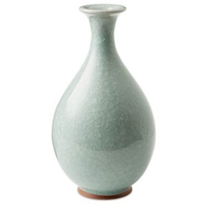 Celedon Ice Crackle Vase
