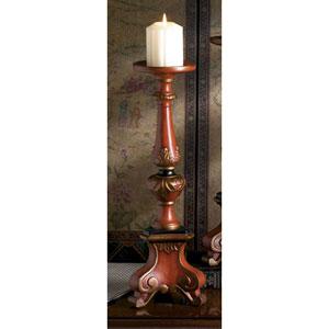 Birch Porcelain Tri-Pod Pillar Candleholder