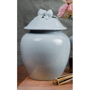 Blue Porcelain Ginger Jar