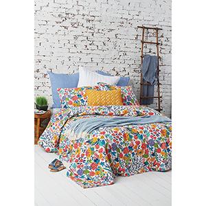 Quinn Multicolor Floral Twin Quilt