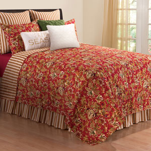 Jocelyn Red Full/Queen Quilt